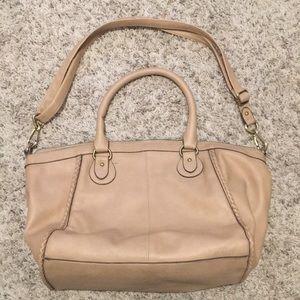 Tan Vegan Leather Bag